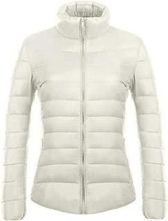 XFentech Winter Women's Down Puffer Jacket Packable Ultra Light Weight Coat