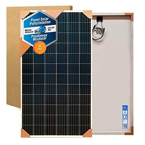 wccsolar Solarpanel, 330 W, 72 Zellen, 24 V, Polykristalline