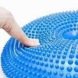 Ballsitzkissen mit Loch »Donut« inkl. Pumpe (ca. 140kg Maximalgewicht) / luftgefülltes Sitzballkissen, Luftkissen & Gleichgewichtskissen - 5