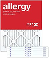 AIRx Allergy 14x14x1 MERV 11 Pleated Air Filter - Made in The USA