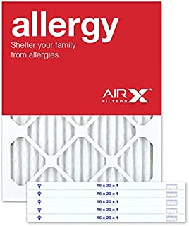 Best AIRx ALLERGY 16x20x1 MERV 11 Pleated Air Filter - Made in the USA - Box of 6 Review