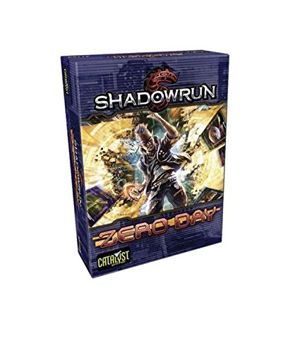 Catalyst Game Labs CAT27760 Kartenspiel Shadowrun: Zero Day