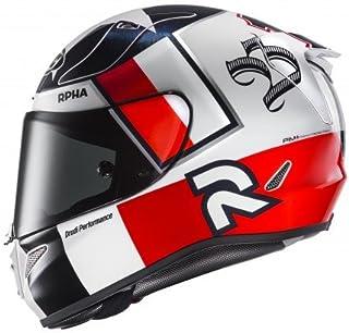 HJC Motorradhelm   RPHA 11 Ben Speis MC1, Transparent/Rouge, Größe M