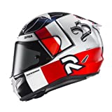 Casco de moto HJC RPHA 11 BEN SPIES MC1, Blanco/Rojo, XL