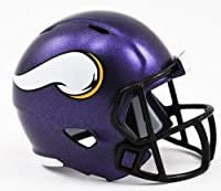 Minnesota Vikings NFL Cupcake/Cake Topper Mini Football Helmet