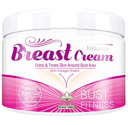 Breast Enhancement Cream, Breast Enlargement Cream for Women Firming Bust Enlargement Lifting Cream Enjoy Larger Fuller Firmer Breasts