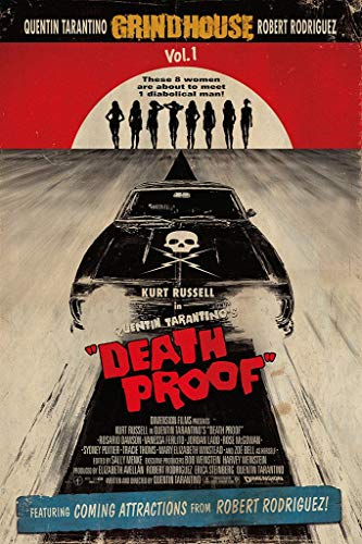 WOAIC Death Proof Pósteres For Bar Cafe Home Decor Painting Wall Sticker Frameless 24X36 Inch(60X90CM)