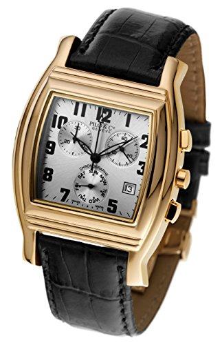 Pilo & Co Herren-Armbanduhr, Schweizer Quarz, Chronograph, Kollektion P0121CHQGR