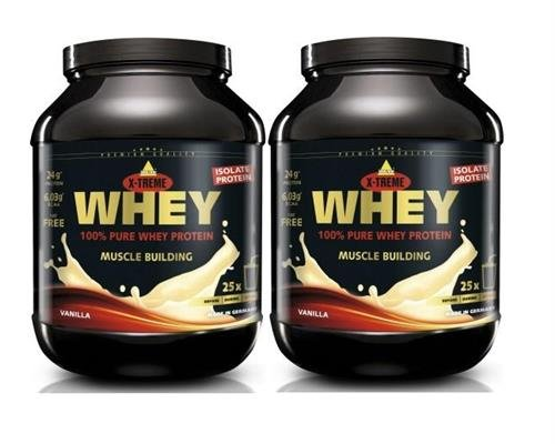 Inko X-Treme Whey Protein 2 x 750g Dose 2er Pack Cookies and Cream