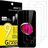 NEW'C 3 Unidades, Protector de Pantalla para iPhone 7, iPhone 8, (4.7'), Antiarañazos, Antihuellas,...