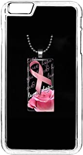 Phone Case for iPhone 6 Plus,Breast Cancer iPhone 6S Plus Case,Breast Cancer Awareness iPhone 6 Plus Case Breast Cancer Awareness Hard Silicone Case for iPhone 6 Plus/6S Plus