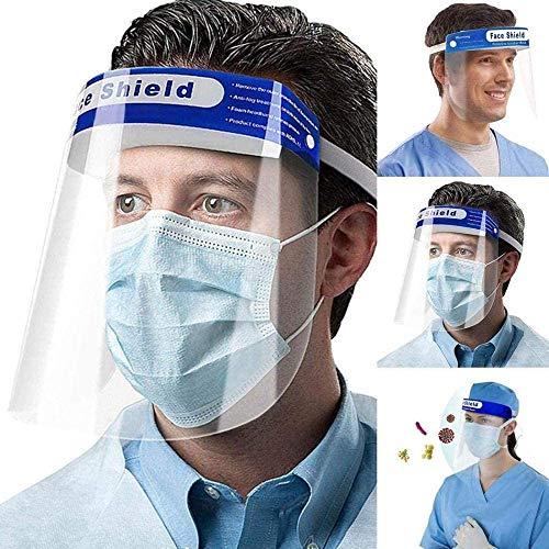 5 x praktische Anti-Beschlag-Maske, spritzwassergeschützt, Kopfschlaufen-Schutzmaske, Gesichtsschutz, Hüte und Kappen