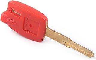 Roter Motorradschlüsselanhänger mit ungeschliffener Klinge 3 Magnetics passend für Suzuki Burgman AN650