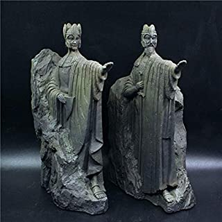 BeesClover [Funny Lord of The Rings Toy The Argonath Craft Action Figure The Hobbit Figures Gate of Kings Statue Toys Model Bookshelves Show