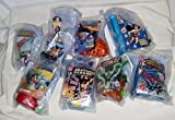 Burger King Justice League Complete Kid's Meal set - 2003