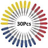 cortador para Vinilo Roland 15/pcs cuchillas para moda-colgante Vinilo 30//45//60/grados repuesto Hoja para plotter de corte con soporte para piezas GCR cricut