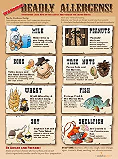 food allergy poster for classroom