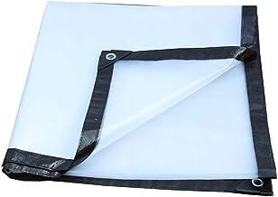 LIXIONG dekzeil dekzeil dekzeil outdoor regenbestendig zonnebescherming transparant scheurvastheid vouwbaar metalen knoops...