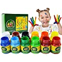 iMustech Washable 12 Colors Kids Finger Paint Set