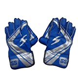 SS College Wicket Keeping Gloves - Boys (Multicolour)