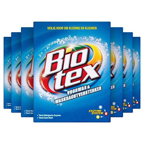 Biotex Waspoeder Voorwas en Waskrachtversterker voor witte was - 7 x 750gram - Voordeelverpakking