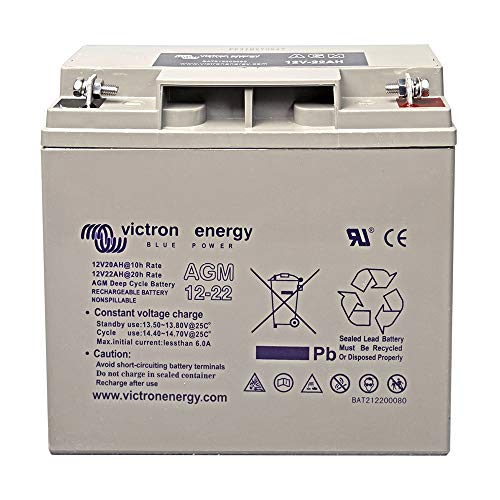 Victron AGM 12V 22Ah Deep Cycle Akku Batterie