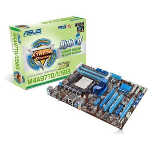 Asus 90-MIBCM5-G0EAY0WZ Mainboard Sockel AMD AM3 870 4X DDR3 Speicher ATX