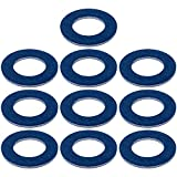 Prime Ave Aluminum Oil Drain Plug Washer Gaskets 90430-12031 (Pack of 10)