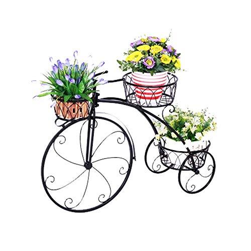 Soporte De Exhibición De Flores De Plantas Soporte De Flores Soporte De Flores De Hierro De Nivel, Triciclo De Piso De Metal Soporte para Macetas Soporte para Macetas para Plantas Soporte De Exhibici