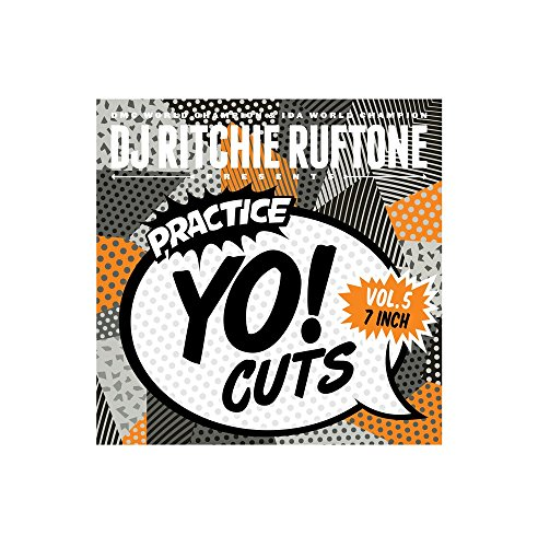 "DJ RITCHIE RUFTONE Practice Yo! Cuts Vol. 5 - 7"" Vinyl"