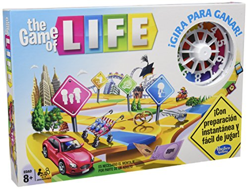 Hasbro Gaming - Juego en Familia Game of Life (04000546)