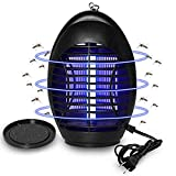 Wanqueen 2019 Upgraded Electronic Bug Zapper, Indoor Mosquito Trap with Hook for Home, Bedroom, Kitchen, Office