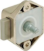 Gedotec Opschroefslot camper kast-meubelslot Push-Lock Mini | slot doornmaat 15 mm | drukslot kunststof bruin | MADE IN GE...