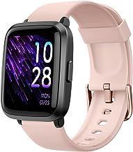 ساعت هوشمند YAMAY 2020 نسخه. ساعت مچی برای خانمها ردیاب تناسب اندام مانیتور فشار خون اندازه گیری اکسیژن خون مانیتور ضربان قلب IP68 ضد آب ، ساعت هوشمند سازگار با آیفون