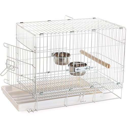 Prevue Hendryx Travel Bird Cage 1305 White,...