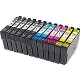 12x Cartouches d'encre compatibles Epson 29 XL 29XL pour Epson Expression Home XP-235...