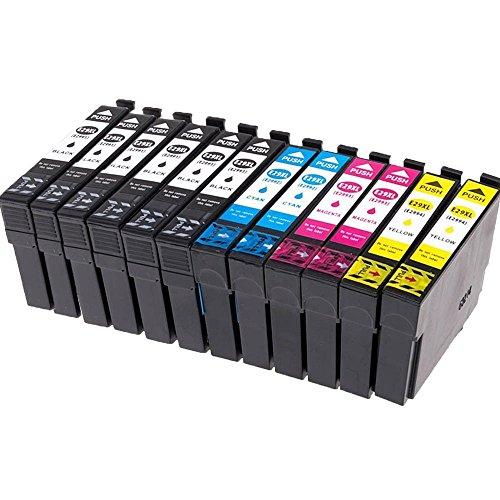 Ouguan 12x Cartuchos de Tinta Epson 29 29XL Compatible con Epson Expression Home...