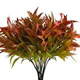 Fake Flower Plants Nahuaa 4PCS A...