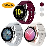 NANW 3-Pack Compatible with Samsung Galaxy Watch Active Bands /...