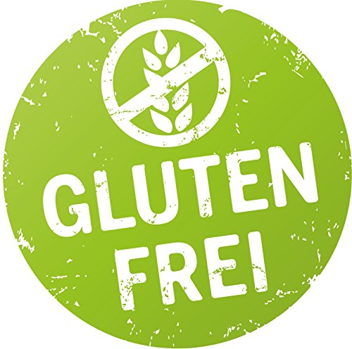 Finest-Folia 500x Product Stickers Bio, plantaardig, glutenvrij, lactosevrij, Vegetarisch R002 glutenvrij