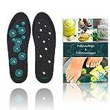 SilverRack Euphoric Feet Einlegesohle | Original Relax Feet magnetische Schuheinlagen und orthopädische Einlegesohlen für Akupressur und Massage | Einlegesohlen magnetisch | Frauen Herren M (36-41)