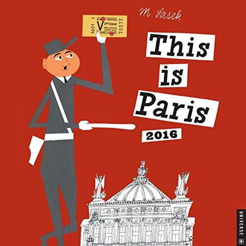 This is Paris 2016 Wall Calendar