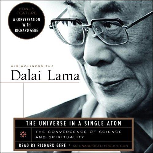 The Universe in a Single Atom audiobook cover art