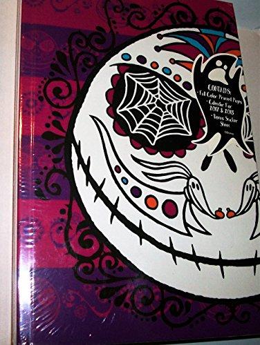 Tim Burton 's The Nightmare Before Christmas Dia de los Muertos Zeitschrift mit 2017und 2018und Aufkleber Jack