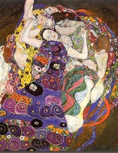 Impresión sobre lienzo Canvas Klimt, La Virgen (1913) 50x 70cm sin marco