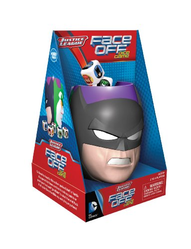 Wonder Forge Justice League Face Off Dice Game