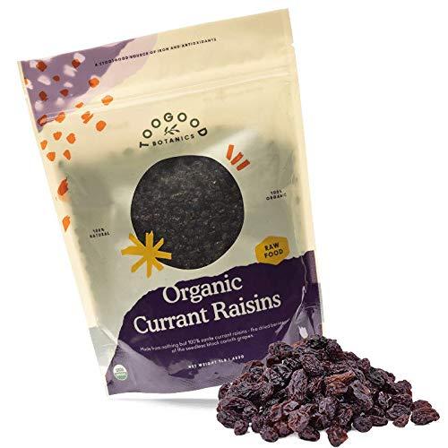 Organic Zante Currant Raisins, California, Naturally Harvested, non-GMO (1 pound, 16 ounces)[Certified Organic]