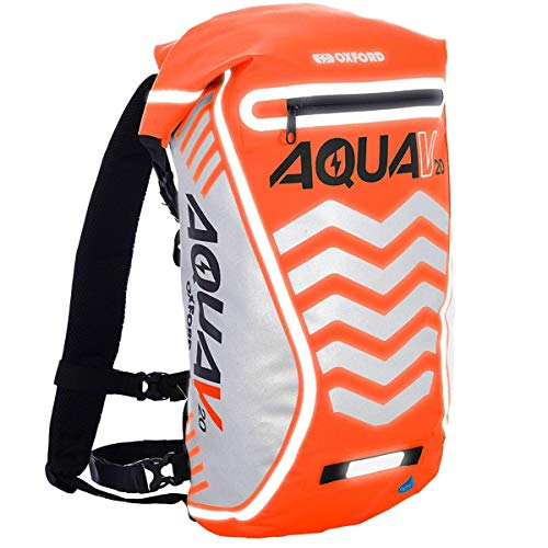 Oxford Aqua V 20 Waterproof Backpack, Fluorescent, Litre