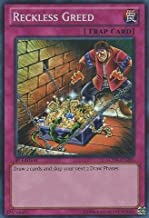 Yu-Gi-Oh! - Reckless Greed (LCYW-EN285) - Legendary Collection 3: Yugi's World - 1st Edition - Super Rare
