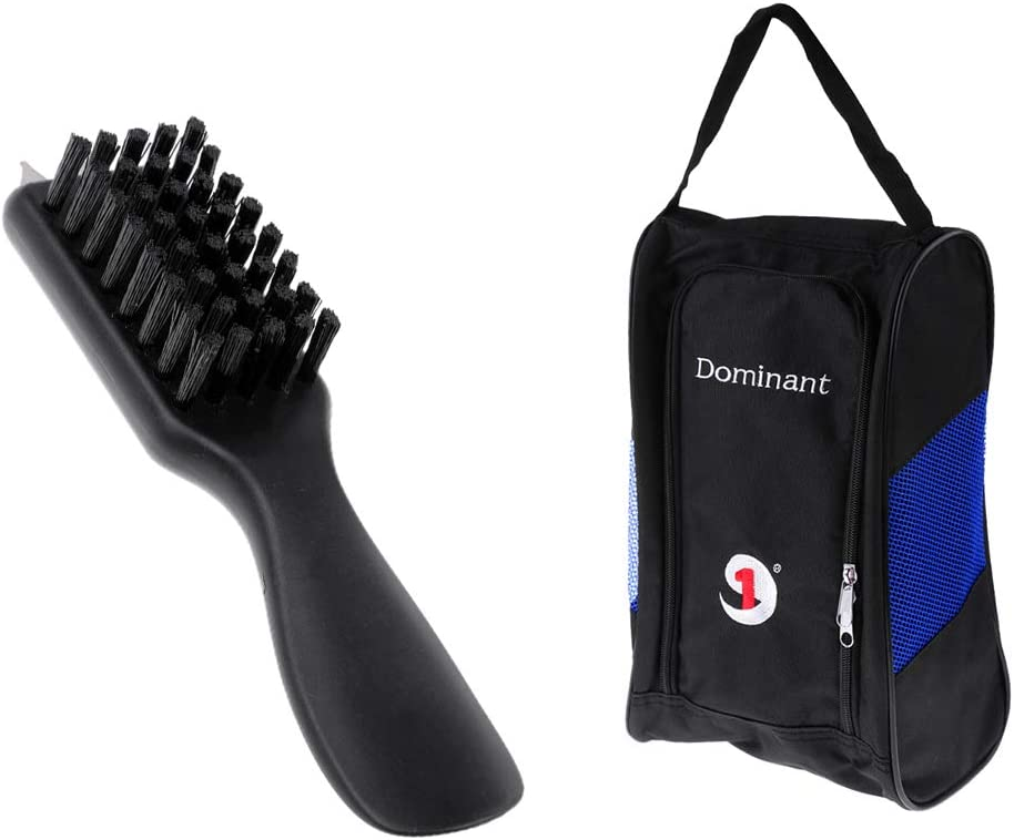 Baosity Fixed price for Finally popular brand sale 3-in-1 Golf Valet Brush Bag and Carry Shoes Cleane